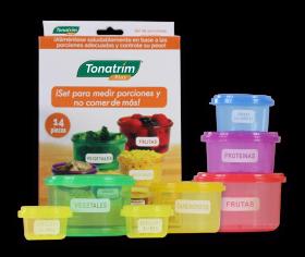 Set de Porciones saludables Tonatrim plus